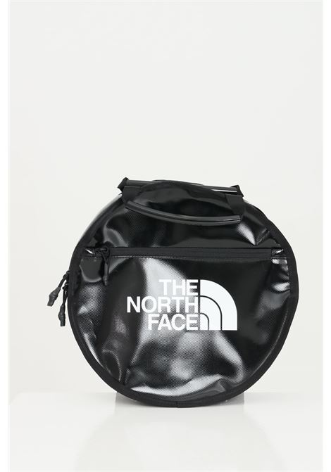 Black base camp with zip and adjustable straps, round bag. The north face THE NORTH FACE | Backpack | NF0A52SLJK31JK31