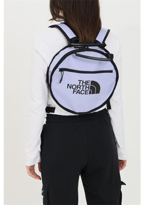 Lilac base camp with zip and adjustable straps, round bag. The north face THE NORTH FACE | Backpack | NF0A52SLYXH1YXH1