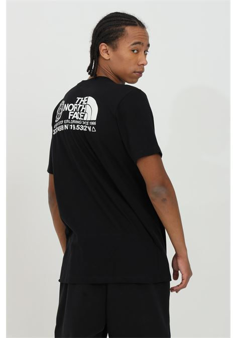 T-shirt con stampa frontale in tinta unita THE NORTH FACE | T-shirt | NF0A52Y8JK31JK31