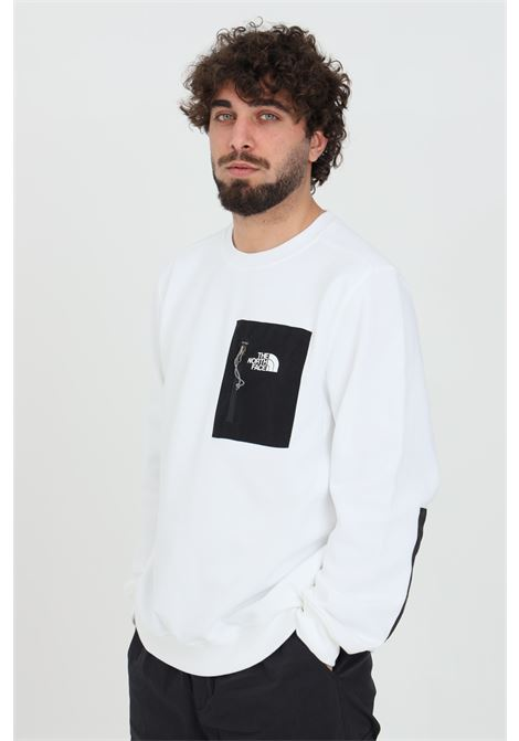 White sweatshirt with long sleeves, brand: The north face THE NORTH FACE | Sweatshirt | NF0A5316FN41FN41