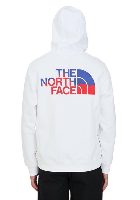 Felpa uomo bianco the north face con cappuccio THE NORTH FACE | Felpe | NF0A5317FN41FN41