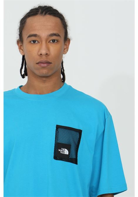 T-shirt con patch in rete frontale THE NORTH FACE | T-shirt | NF0A557KD7R1D7R1