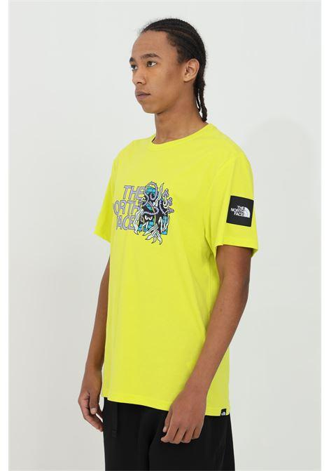 T-shirt con stampa  blackbox a contrasto sul fronte THE NORTH FACE | T-shirt | NF0A557LJE31JE31