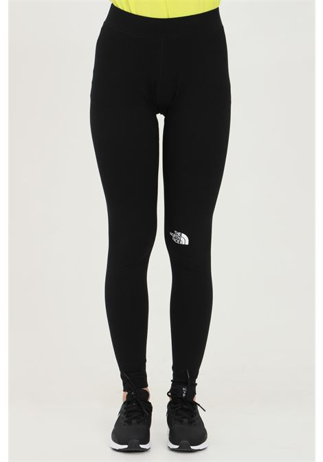 Black leggings in solid color with contrasting logo, high waist. The north face THE NORTH FACE | Leggings | NF0A5584JK31JK31