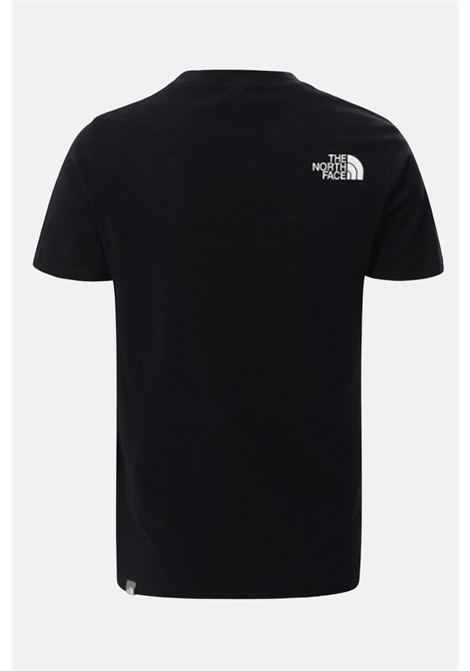 Black t-shirt with front holographic print. Baby model. Brand: The north face THE NORTH FACE | T-shirt | NF0A5591JK31JK31