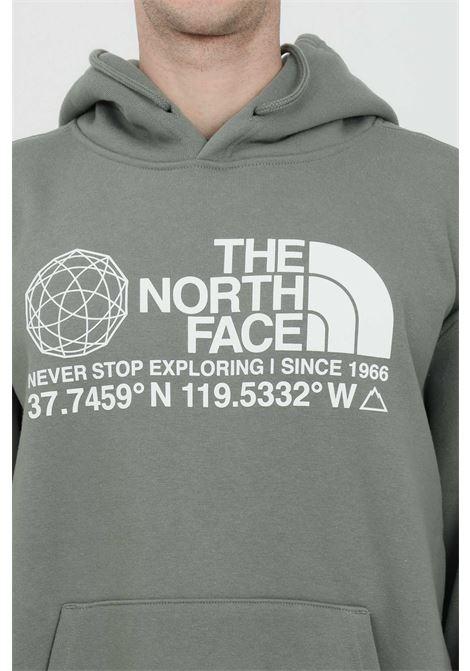 Felpa con cappuccio e lacci in tinta unita THE NORTH FACE | Felpe | NF0A55MWV381V381