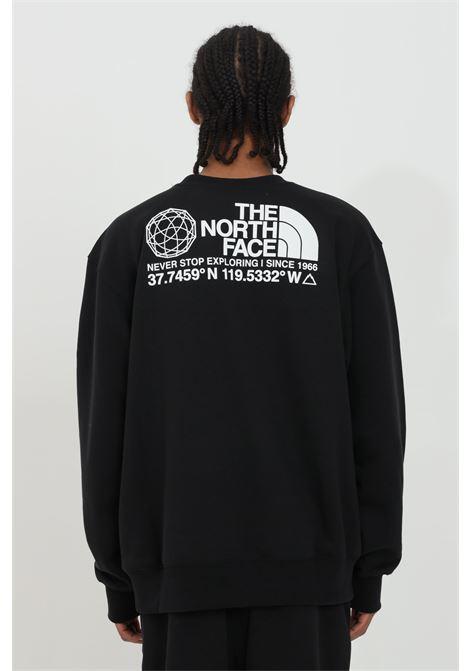 Felpa con cappuccio e logo frontale THE NORTH FACE | Felpe | NF0A55MXJK31JK31