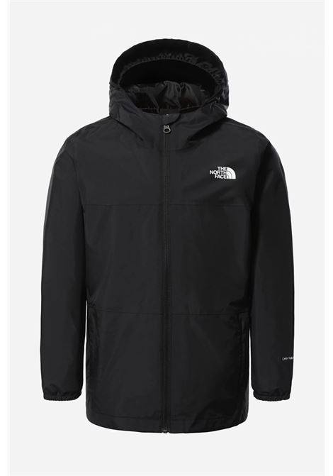 Giubbotto bambino/a nero the north face con zip e cappuccio THE NORTH FACE | Giubbotti | NF0A55TSJK31JK31
