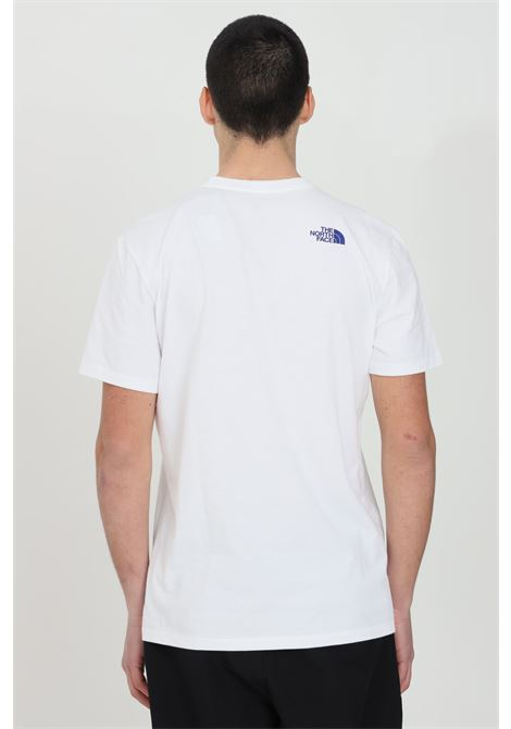 White karakoram graphic t-shirt short sleeve the north face THE NORTH FACE | T-shirt | NF0A55ULFN41FN41