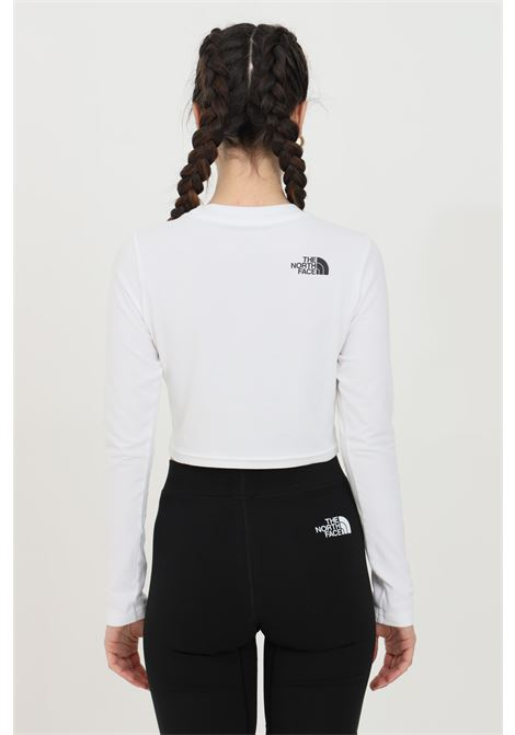 White coordinates tee t-shirt with front print in contrast and small logo on the back. The north face  THE NORTH FACE | T-shirt | NF0A55UZFN41FN41