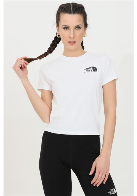 White coordinates tee t-shirt with maxi print on the back and small printed logo on the front. The north face THE NORTH FACE | T-shirt | NF0A55V1FN41FN41