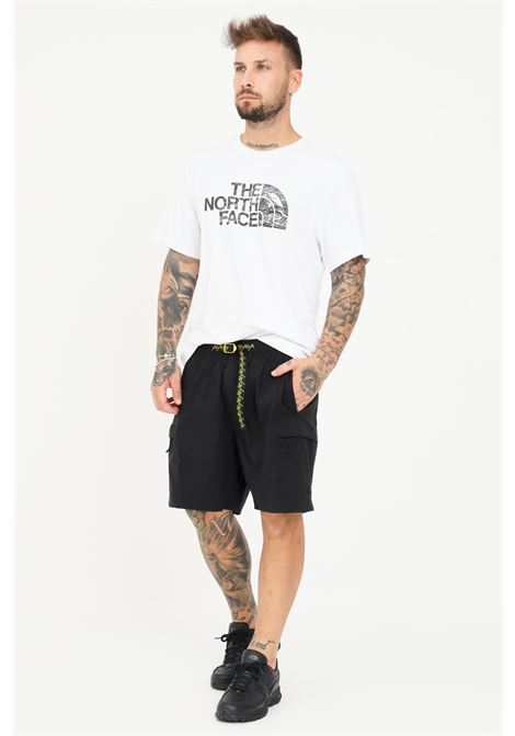 Black men's shorts by the north face with drawstring at the waist  THE NORTH FACE   Shorts   NF0A55V8C1V1C1V1