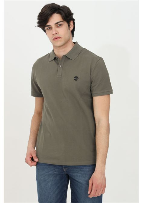 Polo millers river collar in jaquard pique TIMBERLAND | Polo Shirt | TB0A2BNXA581A581
