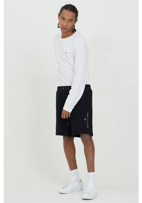 Shorts with side pockets and side embroidery  TOMMY HILFIGER | Shorts | MW0MW17401DW5