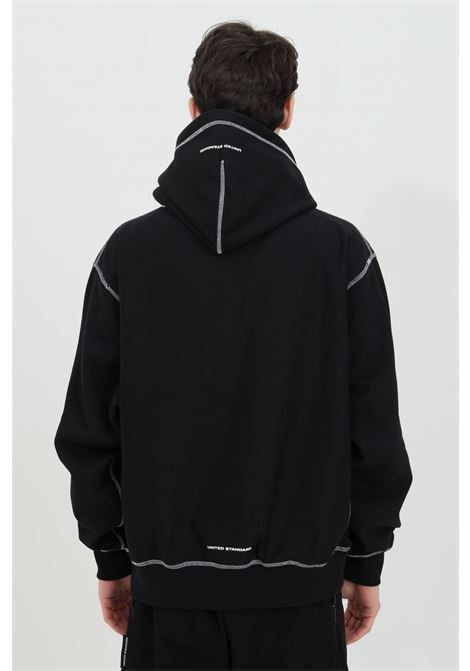 Hoodie with front pocket UNITED STANDARD | Sweatshirt | USXMSW09JY09BLK001