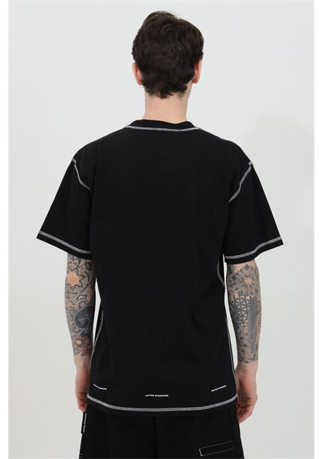 T-shirt with front print and crew neck UNITED STANDARD | T-shirt | USXMTS05JY05BLK001