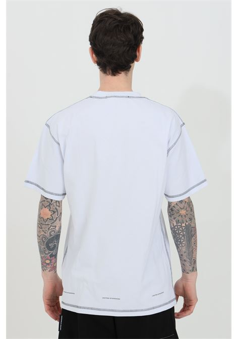 T-shirt with maxi front logo and contrasting finishes UNITED STANDARD | T-shirt | USXMTS13JY13WHT001
