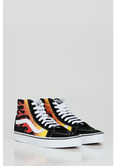 Sk8 Hi Reissue sneakers with flame print. VANS | Sneakers | VN0A2XSBPHN1PHN1