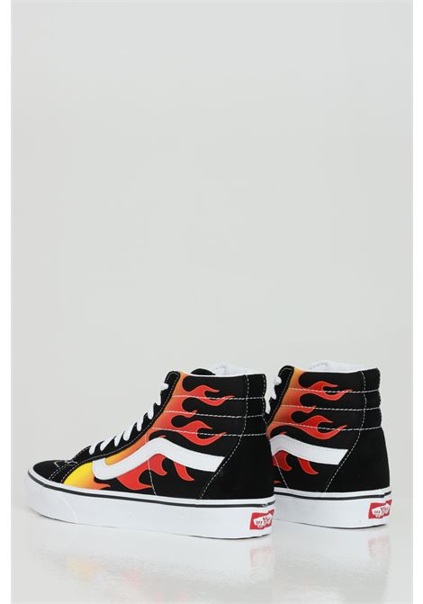 Sk8 Hi Reissue sneakers a stivaletto con stampa fiamme. VANS | Sneakers | VN0A2XSBPHN1PHN1