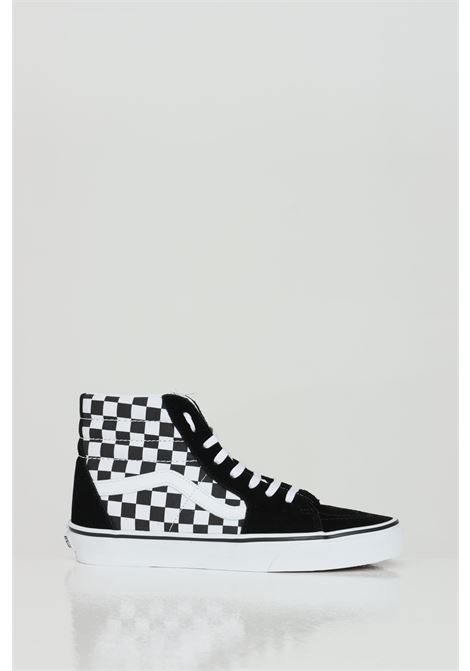 Sk8 Hi sneakers a stivaletto con stampa damier. VANS | Sneakers | VN0A32QGHRK1HRK1
