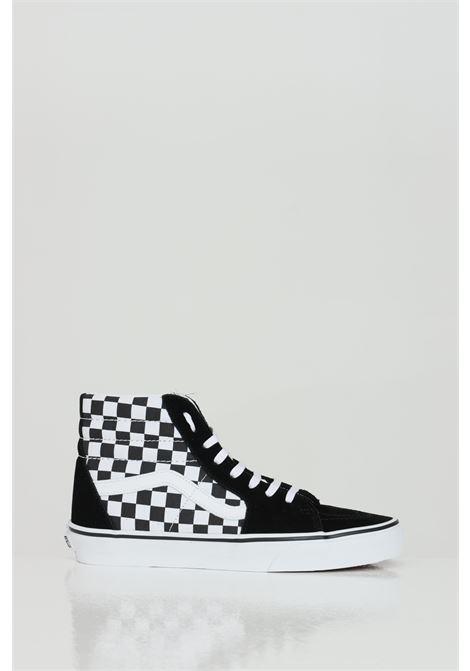 Sk8 Hi sneakers with damier print VANS | Sneakers | VN0A32QGHRK1HRK1
