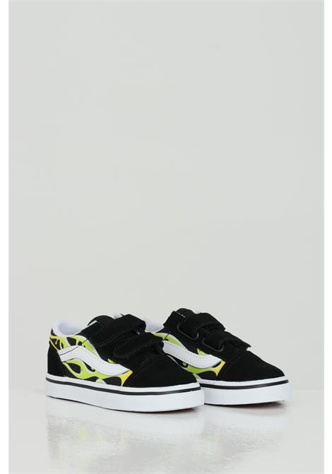 Old Skool V sneakers con stampa fiamma. VANS | Sneakers | VN0A38JN31M131M1