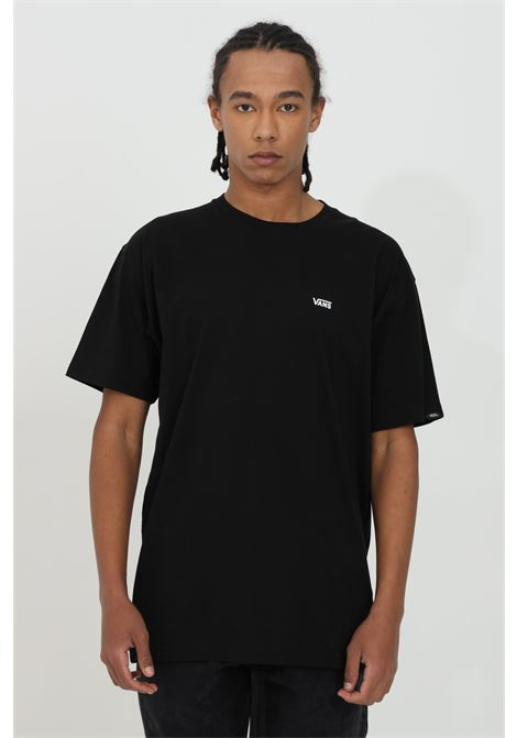 Black t-shirt in heavy cotton with small logo on the front, short sleeve. Regular fit. Vans  VANS | T-shirt | VN0A3CZEY281Y281