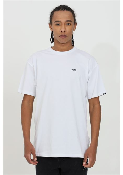 White t-shirt in heavy cotton with small logo on the front, short sleeve. Regular fit. Vans VANS | T-shirt | VN0A3CZEYB21YB21