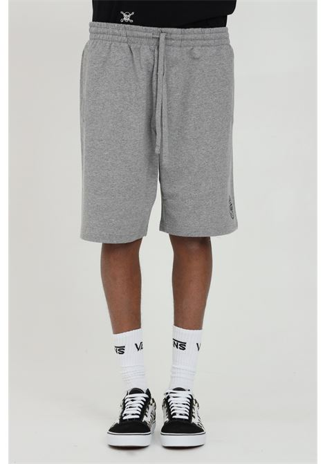 Grey shorts with elastic waistband. Comfortable model with side pockets. Vans  VANS | Shorts | VN0A54EC02F102F1