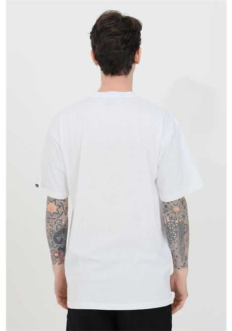 White classic print box t-shirt with contrasting print on the front, short sleeve. Regular fit. Vans VANS | T-shirt | VN0A5E7YZ5V1Z5V1