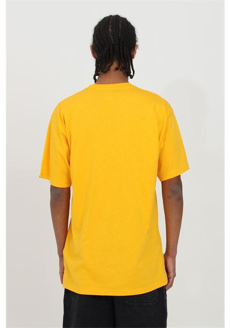Orange classic easy box t-shirt with front logo, regular fit. Vans VANS | T-shirt | VN0A5E81Z5K1Z5K1