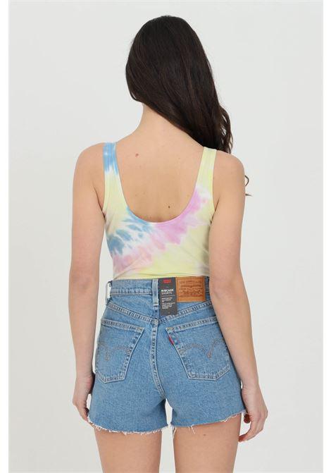 Body spiraling V donna multicolor vans casual con logo frontale e spalline a fascia larga. Chiusura con ciappe VANS | Body | VN0A5EU20FS10FS1