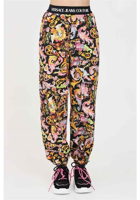 Printed casual trousers versace jeans couture VERSACE JEANS COUTURE | Pants | A1HWA106S0153899