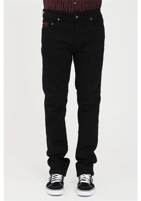 Black casual trousers versace jeans couture VERSACE JEANS COUTURE | Pants | A2GWA0S460366899