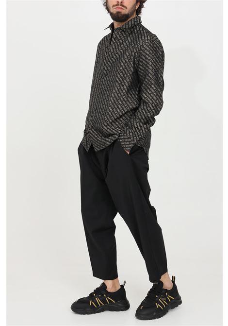 Pantalone uomo nero versace jeans couture casual VERSACE JEANS COUTURE   Pantaloni   A2GWA11015640899