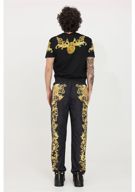 Black casual trousers versace jeans couture VERSACE JEANS COUTURE | Pants | A2GWA1B225188899