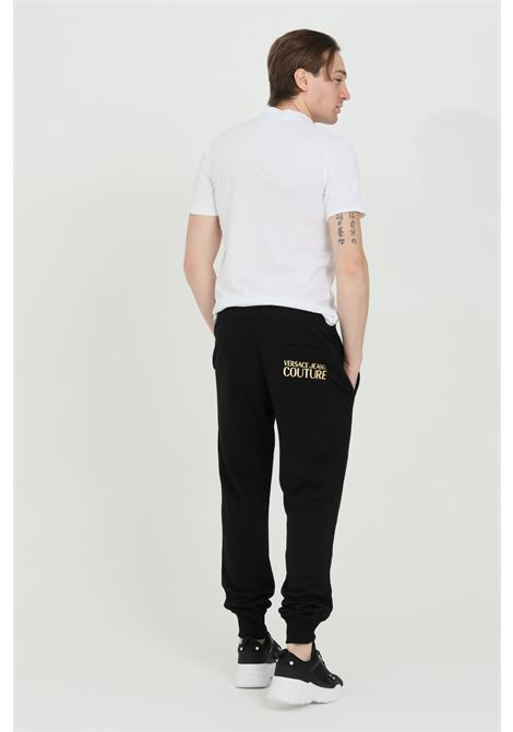 Casual trousers. Black. VERSACE JEANS COUTURE | Pants | A2GWA1TB30318K42