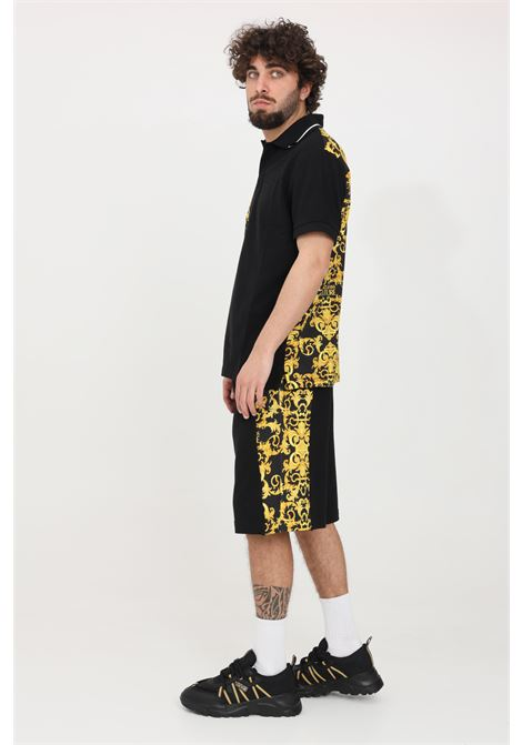 Black casual shorts versace jeans couture VERSACE JEANS COUTURE | Shorts | A4GWA130S0156899