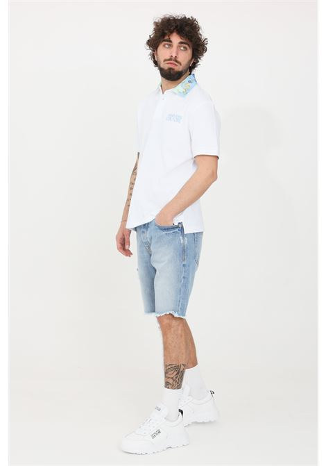 Blue casual jeans versace jeans couture VERSACE JEANS COUTURE | Shorts | A4GWA17iAOK5Z904