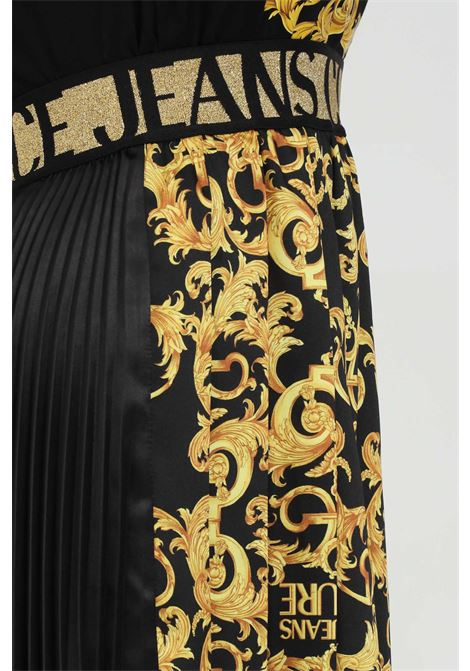 Gonna con plisset stampata VERSACE JEANS COUTURE | Gonne | A9HWA318S0148899