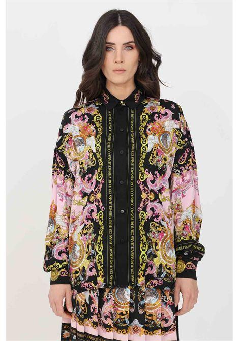 Multicolor elegant shirt versace jeans couture VERSACE JEANS COUTURE | Shirt | B0HWA601S0229O16