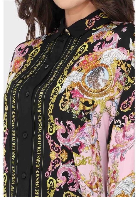 Camicia donna fantasia versace jeans couture elegante VERSACE JEANS COUTURE | Camicie | B0HWA601S0229O16