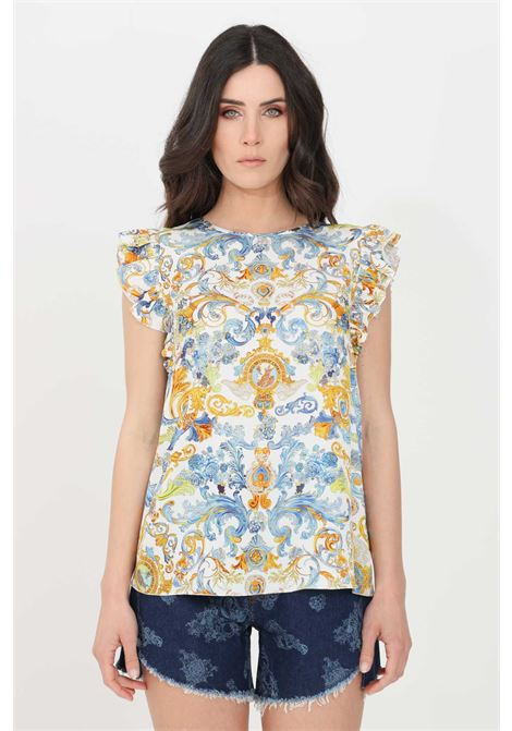 Multicolor casual top versace jeans couture VERSACE JEANS COUTURE | Top | B0HWA631S0879003