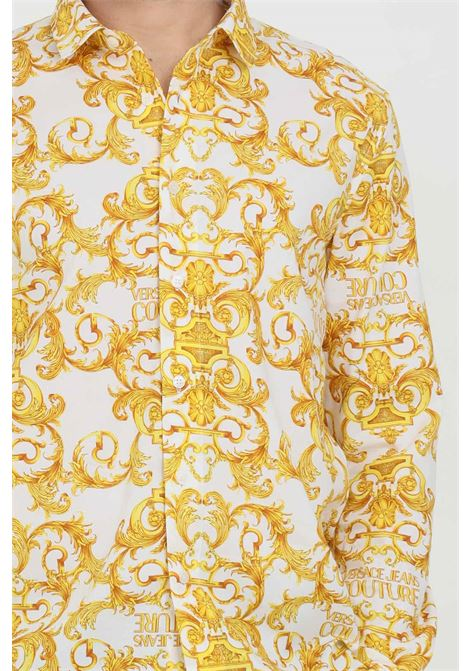 Men's shirt with all over print VERSACE JEANS COUTURE | Shirt | B1GWA6S0S0152003