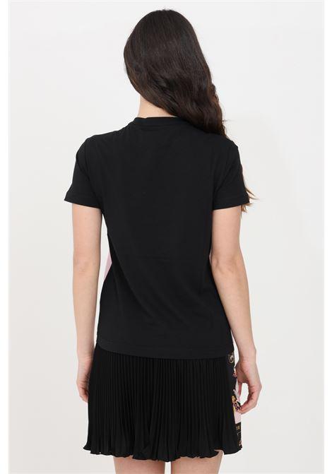 Black t-shirt short sleeve versace jeans couture VERSACE JEANS COUTURE | T-shirt | B2HWA727S0225O16016