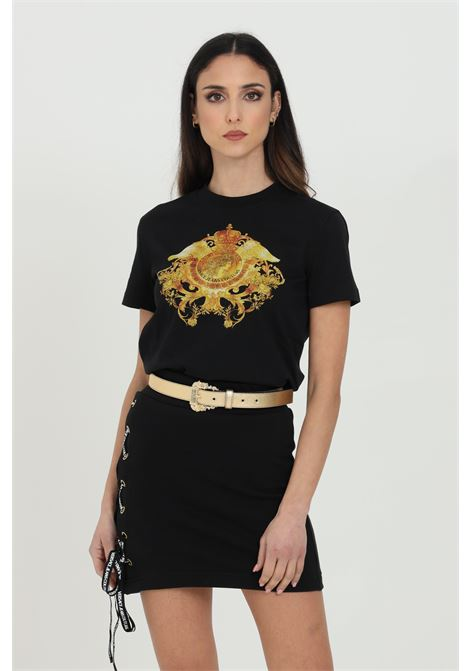 T-shirt basic con stampa frontale VERSACE JEANS COUTURE | T-shirt | B2HWA73030454899899