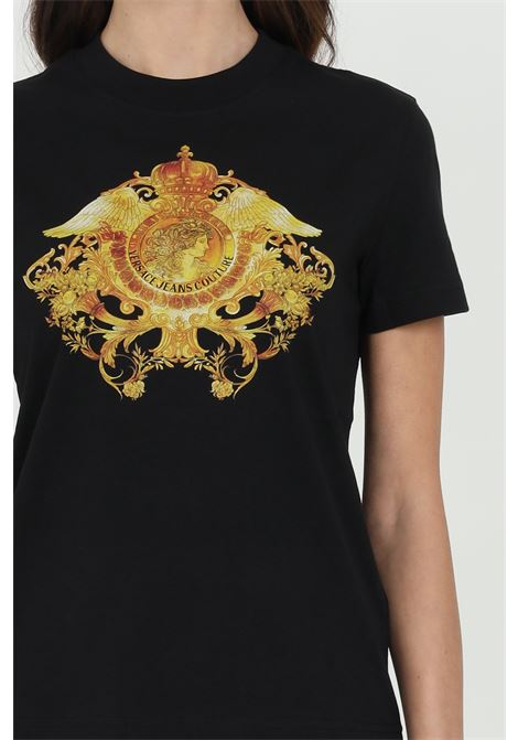 Basic t-shirt with front print VERSACE JEANS COUTURE | T-shirt | B2HWA73030454899899
