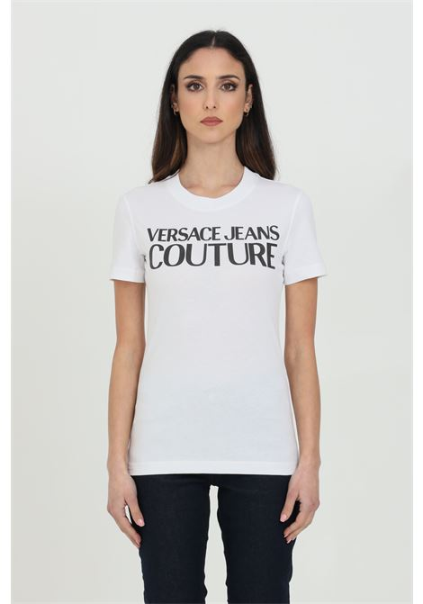 T-shirt with front logo VERSACE JEANS COUTURE | T-shirt | B2HWA7TA30454003