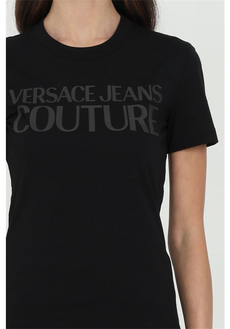 T-shirt with front logo VERSACE JEANS COUTURE | T-shirt | B2HWA7TA30454899