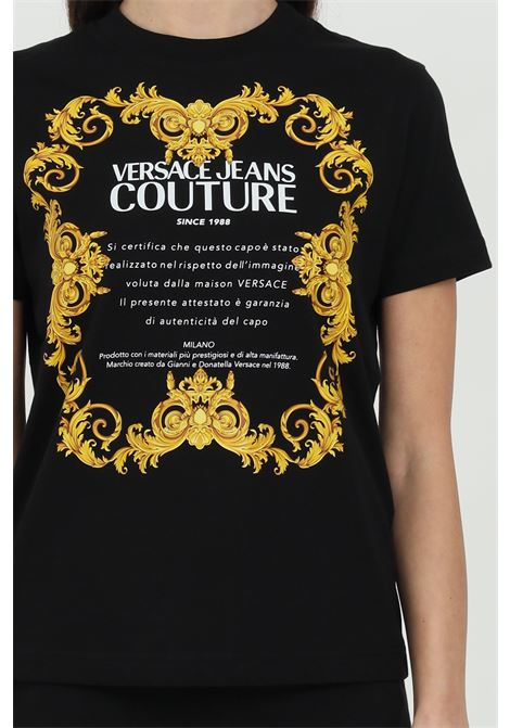 T-shirt with maxi logo  VERSACE JEANS COUTURE | T-shirt | B2HWA7TJ30319899
